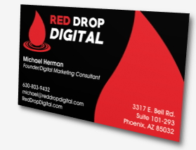 Red Drop Digital Business Card